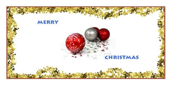 Gimp Christmas Card