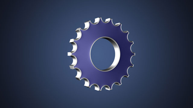 3D Gear Icon in Photoshop CS6