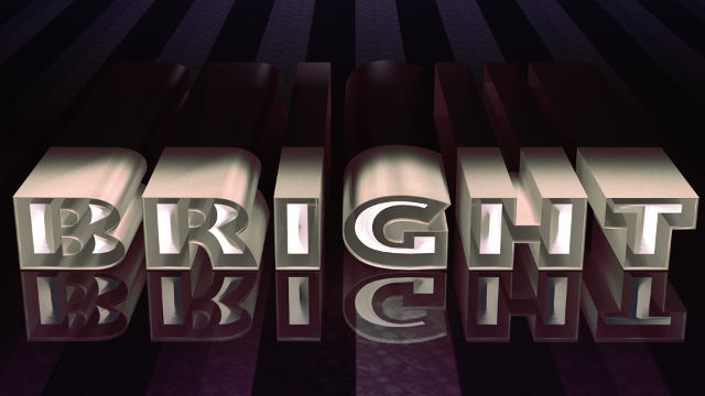 High Impact Glowing 3D Text in Photoshop CS6