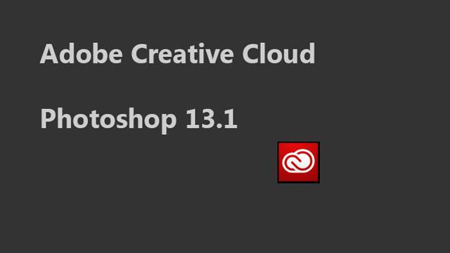 Photoshop 13.1