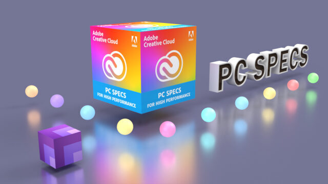 Performance Creative Cloud PC